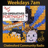 Wednesday Breakfast - @CCRBreakfast - Lucy, Rob and Jamie - 25/06/14 - Chelmsford Community Radio
