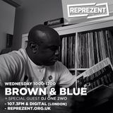 Represent Show #152 22nd of December Brown and Blue mix