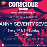 DANNYSEVENTY7 NOV 6TH SHOW PLAYING TWO SUNDAYS OF THE MONTH ON WWW.CONSCIOUS.ORG.UK