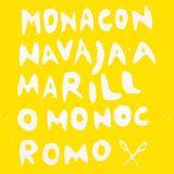 AMARILLOMONOCROMO/ Mona con navaja