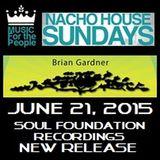 BRIAN GARDNER Live @ NACHO HOUSE Sundays in Las Vegas, 6-21-15