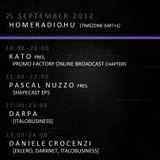 KATO Promo-Factory Radio Broadcast_20120925_23-24h with Special Guest: Daniele Crocenzi (Eklero)