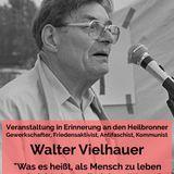 Begrüßung durch Konrad Wanner (die LINKE) | Veranstaltung in Erinnerung an Walter VIelhauer