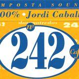"DJ SET Made in ""242 Amposta"" by DJ Jordi Caballé May 1999 New Wave-EBM-Industrial-PostPunk-Technopop"
