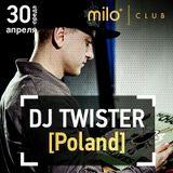 MILOMANIA Radioshow – 30/05/14 - гость эфира DJ Twister [Poland]