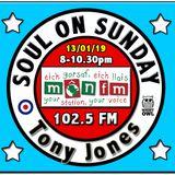 Soul On Sunday Show 13/01/19, Tony Jones on MônFM Radio * 2018 * L O O K B A C K * 2 of 2
