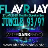 ADR Monthly Speaker Box with FLavRjay. Jungle 93-97 Vinyl Selection. 27-JAN-18