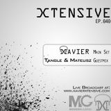 Xtensive Ep.040 ft. Tangle & Mateusz guestmix- April 30th, 2012