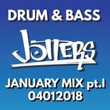Jotters January 2018 pt.i mix - drum and bass