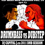 DJ CAPITAL J - VIP BASS MIX #16 (DNBvsDUBSTEP pt.1)