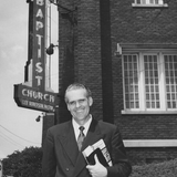 Easter Sunday at Highland Park Baptist Church/Tennessee Temple in March 1978. Lee Roberson, Pastor.