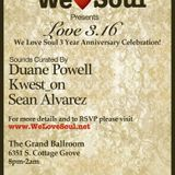 Promo Mix: Love 3.16 Saturday March 16th @The Grand Ballroom-www.WeLoveSoul.net