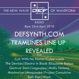 DEFSYNTH.COM's New Wave of Waveform Radio Show - 23rd April 2018