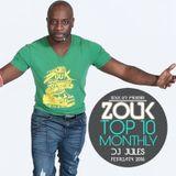 February 2016, Brazilian Zouk Top 10, Dj Jules