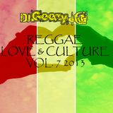 DJ GEEZY G - REGGAE LOVE AND CULTURE VOL. 7 - 2013