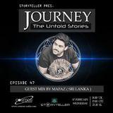 Journey - 47 guest mix by Mafaz ( Sri Lanka ) on Cosmos Radio [07.02.18]