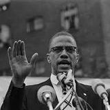 TUES 21st FEB BY ANY MEANS NECESSARY, THE WORDS OF MALCOM X, LET THE MUSIC PLAY.
