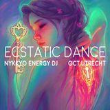 Ecstatic dance Utrecht Oct 2018 - Nykkyo Energy DJ