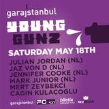 Cagin Kulacoglu @GARAJiSTANBUL LiVE - YOUNGUNZ 18.05.13