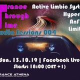 2019-10-13 - [Live] Trance Through Time Studio Sessions 004 - Trance classics 150+ bpm