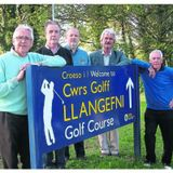 Llangefni Golf Club - Tony Wyn Jones interviews Berwyn Owen