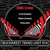 PNX-SNK @ Bucharest Tekno Unit 014 (14.04.2018)