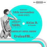 Absolut Soul Show /// 14.11.2016 on cruiseFM