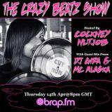 DJ GIRA & MC ALASKA GUEST MIX FOR THE CRAZY BEATZ SHOW ON BRAP FM