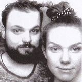 Meggy & Damian.Thorn on Christmas Eve at Chalet Club, Berlin