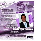 LiveLifeInThePURPLE Show with MLuV 02-07-2017 Guest Chris Pettenon