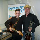 Russell Hill's Country Music Show on 93.7 Express FM feat. Dicey Riley. 24th November 2013
