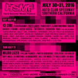 2016.07.31 - Amine Edge & DANCE @ Hard Summer Music Festival, Fontana, USA