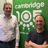 Paul Flicek interview in 2017 on Cambridge 105 Science