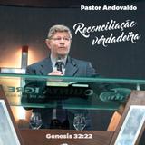"""Culto de Celebração- domingo- 26 de agosto 2018 """"Reconciliação Verdadeira"""" Pr. Aldovando"""