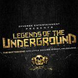 KAMUI (Classics Set) - Legends of the Underground (March 20th, 2015 Melbourne)