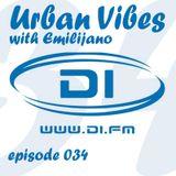 Emilijano - Urban Vibes 034 [DI.FM] (May 2014)