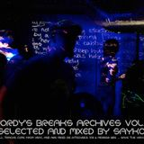 Jordy's breaks archives vol.1 / selected and mixed by Sayko