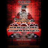 D-Ceptor - live @ Hardcore Commanded 'X-Core' (Nightlife, Aachen - 24.12.2015)