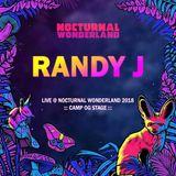 Randy J - Live @ Nocturnal Wonderland Camp OG 2018