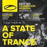 Armin van Buuren warm-up set live @ A State of Trance 700 Sydney - 05.02.2015