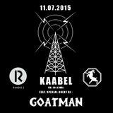 Raadio 2 - Kaabel - GOATMAN (11.07.2015)