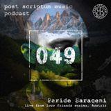 Post Scriptum 049 - Paride Saraceni live at Loco Music Friends Series (Austria)