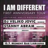 Stanny Abram I Am Different (Moment, Ljubljana) 15.07.2017