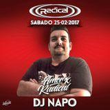 Dj Napo @ Radical 'Amor x Radical' (La Riviera, Madrid) [25-02-2017]