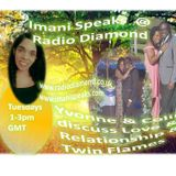 Yvonne Douglas and partner Colin discuss Love & Relationship-Twin Flames/Spirituality
