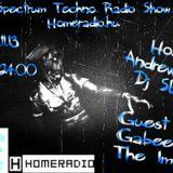 Andrew Live @ Spectrum Techno Homeradio 2012.11.13 .