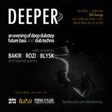 Blysk - DEEPER 005 Live