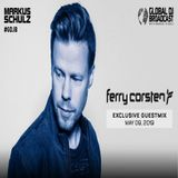 Markus Schulz - Global DJ Broadcast with a Guestmix Ferry Corsten (09.05.2019)