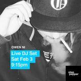 Owen Ni (DJ set) : Step Pepper Records Livestream 2.3.18