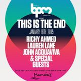 Art Department  - Live At This Is The End, Mamitas (The BPM Festival 2015, Mexico) - 18-Jan-2015